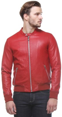 Bareskin Full Sleeve Self Design Men,s Jacket