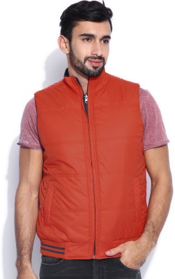Kook N Keech Sleeveless Solid Men's Jacket