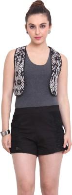 Rena Love Sleeveless Embroidered Women's Jacket