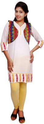 Fine Colors Sleeveless Embroidered Women's Jacket Jacket