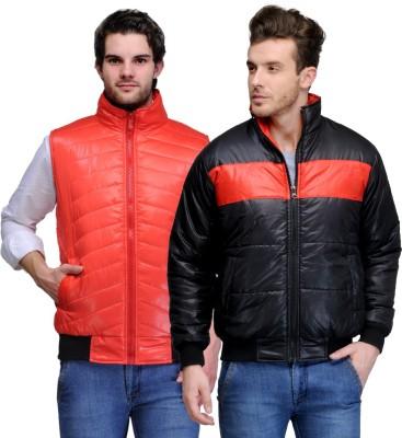 TSX Full Sleeve, Sleeveless Solid Men's Jacket