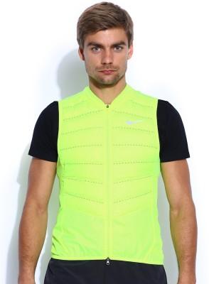 Nike Sleeveless Solid Men's Jacket