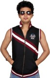 Fulon Sleeveless Striped Men's Jacket