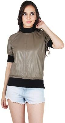 Tizoto Half Sleeve Self Design Women's Jacket