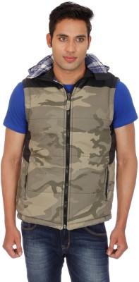Truccer Basics Sleeveless Printed Men's Jacket