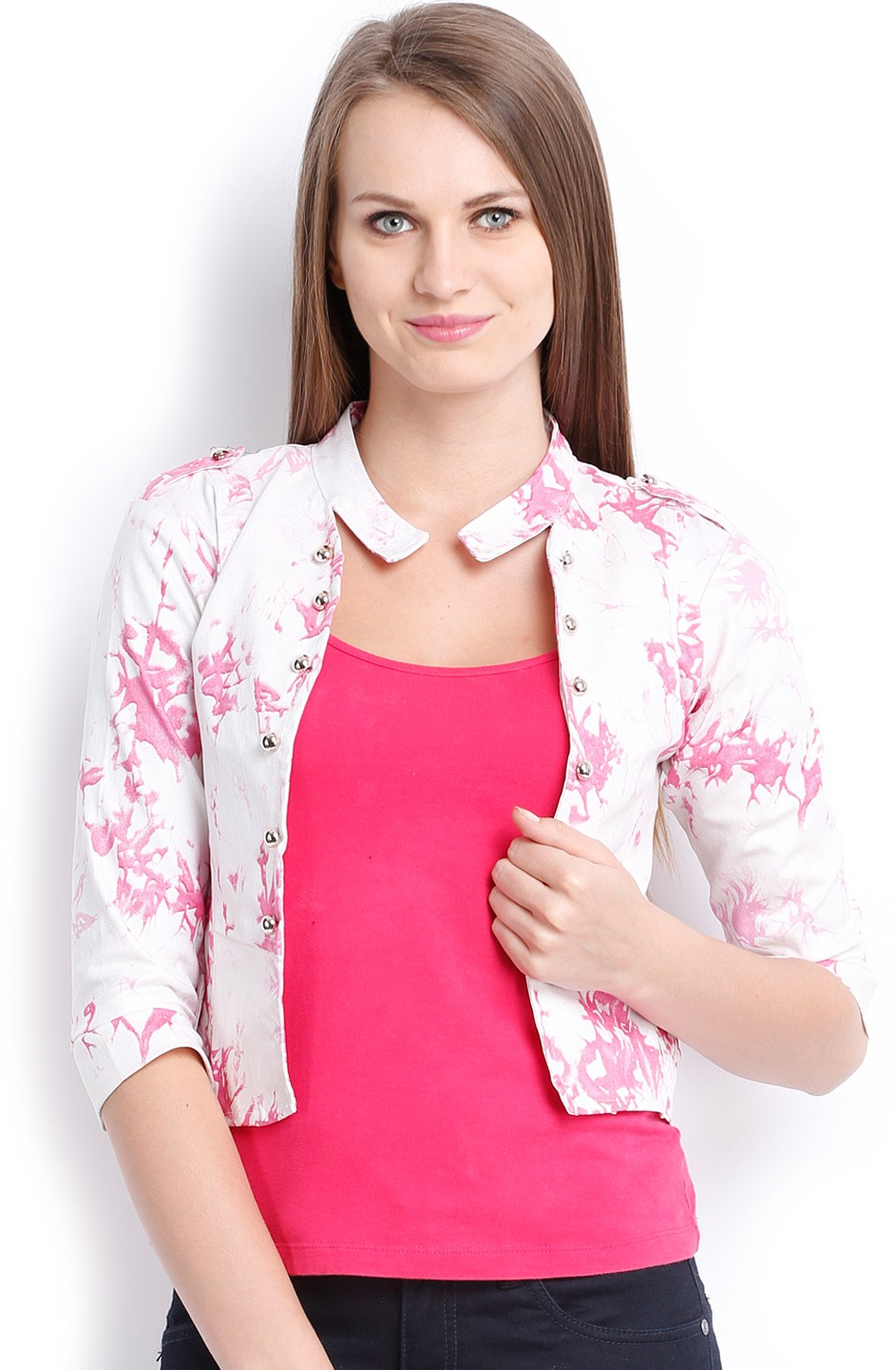 Ten on Ten Printed Womens Summer Jacket