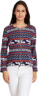 Martini Full Sleeve Printed Women's Jacket