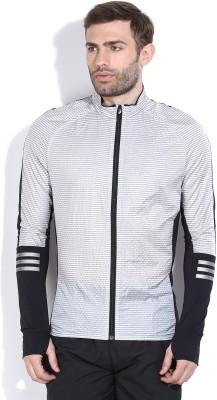 Adidas Full Sleeve Striped Men's Jacket