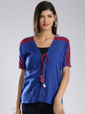 Anouk Half Sleeve Printed Women