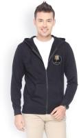 Campus Sutra Full Sleeve Solid Mens Fleece Jacket