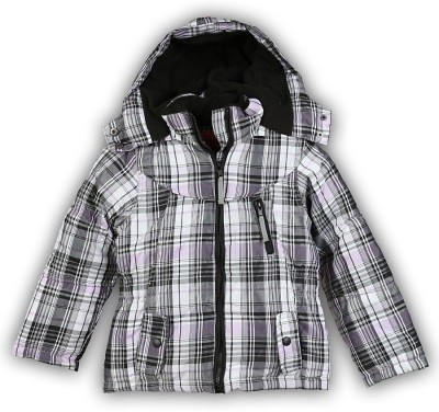 Lilliput Full Sleeve Checkered Girl's Jacket