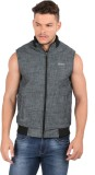 Oxemberg Sleeveless Solid Men's Jacket
