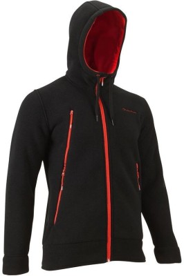 Quechua Full Sleeve Solid Men's Hooded Jacket