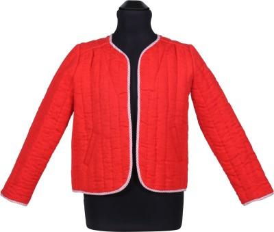 Miss Nightingale Full Sleeve Embroidered Girl's Jacket