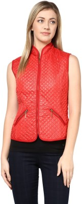 Harpa Sleeveless Solid Women's Jacket