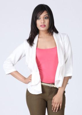 Elle 3/4 Sleeve Solid Women's Jacket