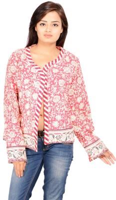 REME Full Sleeve Floral Print Women's Jacket