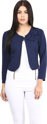 Mayra Full Sleeve Solid Women's Jacket