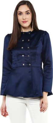 Sassafras Full Sleeve Solid Women's Jacket at flipkart
