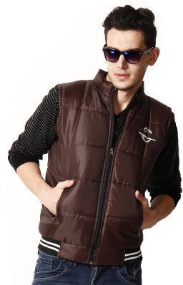 Alaska Sleeveless Solid Men's Quilted Jacket