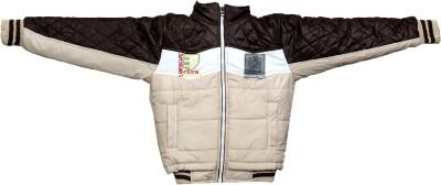 Enclothe Full Sleeve Solid, Self Design Boy's Jacket