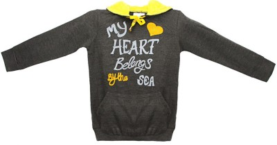 Eimoie Full Sleeve Printed Girl's Jacket