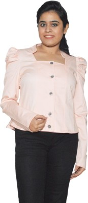 Folks Fashion Full Sleeve Self Design Women's Jacket