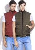 Arrow Sleeveless Solid Men's Quilted Jac...