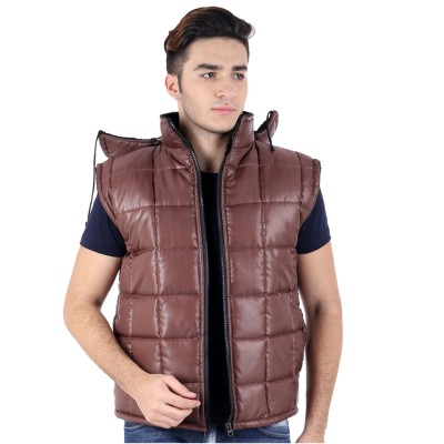 Hardys Sleeveless Solid Mens Jacket