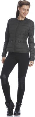 Only Full Sleeve Self Design Women's Jacket