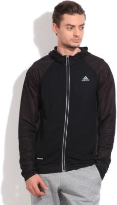 Adidas Full Sleeve Self Design Men's Jacket