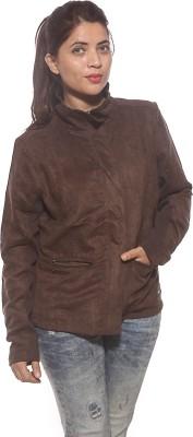 Spykar Full Sleeve Solid Women's Jacket