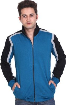 LUCfashion Full Sleeve Solid Men's Quilted Jacket