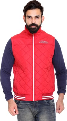 Trufit Sleeveless Solid Men's Jacket