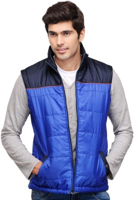Yepme Sleeveless Solid Men,s Bomber Jacket
