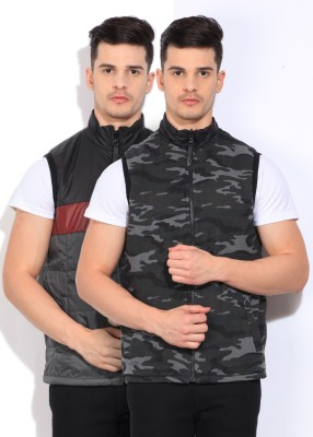 Pepe Jeans Sleeveless Printed Mens Jacket