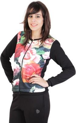 Bongio Full Sleeve Floral Print Womens Jacket