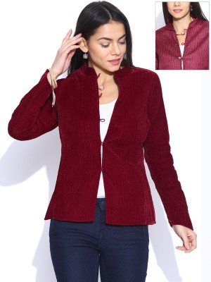 Anouk Full Sleeve Self Design Women's Jacket at flipkart