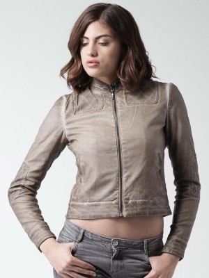 Mast & Harbour Full Sleeve Solid Women's Jacket