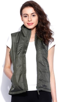 Wrangler Sleeveless Solid Women's Quilted Jacket