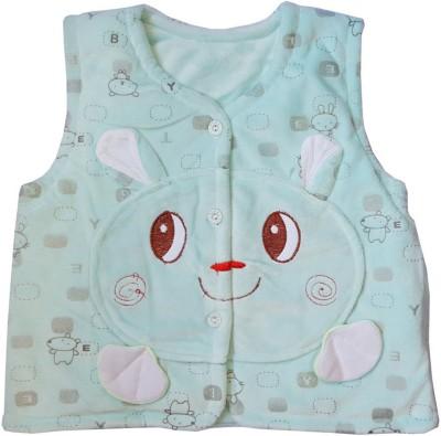 Upside Down Sleeveless Applique Baby Girl,s, Baby Boy's Jacket