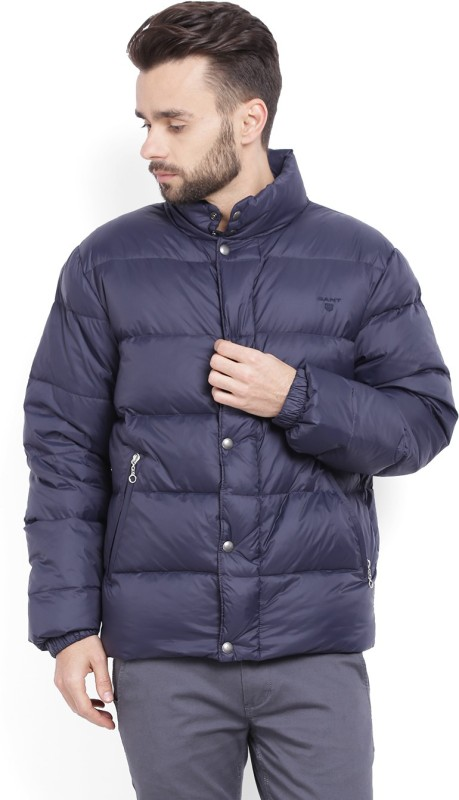 Gant Full Sleeve Solid Men's Quilted Jacket