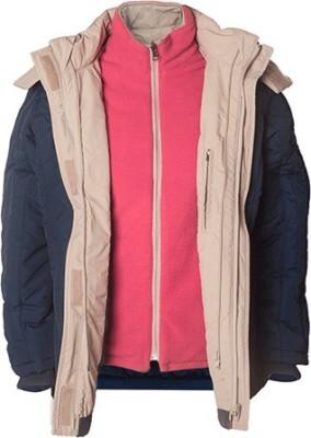 Prrem's Full Sleeve Self Design Women's Jacket