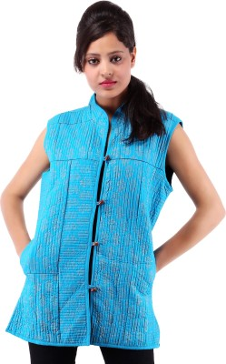 Albelishop Sleeveless Printed Women's Quilted Jacket