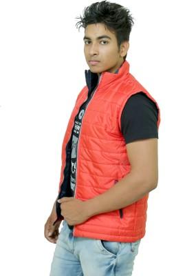 Winter Jackit Sleeveless Self Design Men's Jacket