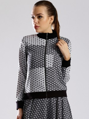 Dressberry Full Sleeve Printed Women's Jacket