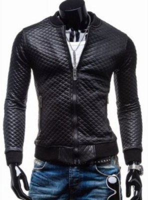 Shimmer Trends Full Sleeve Self Design Men's Jacket