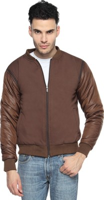 Campus Sutra Full Sleeve Solid Mens Quilted Jacket