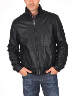Syedna Leather Full Sleeve Self Design Men,s Jacket