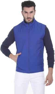 Zobello Sleeveless Solid Mens Jacket